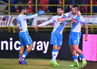 Napoli going like a rocket: undefeated since October