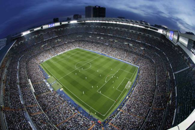 Estadio Santiago Bernabéu (Real Madrid).