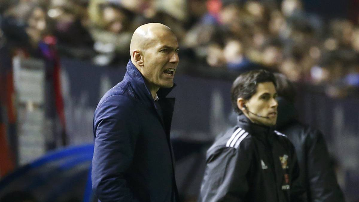 "Zidane: ""We had more balance with four defenders"""