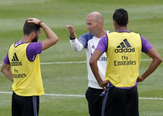 Little defence remains for Zidane's three-at-the-back plan