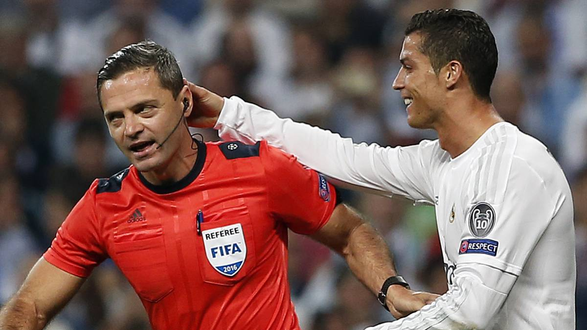 Real Madrid-Napoli: Skomina to referee Champions League clash
