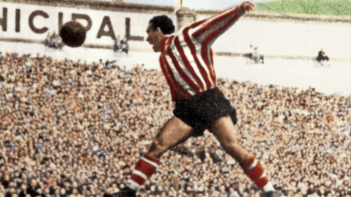 Telmo Zarra, exjugador del Athletic