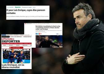 Global press hint at 'end of the Luis Enrique era' at Barça
