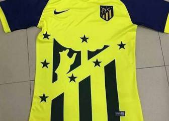 Possible Atlético Madrid second strip leaked
