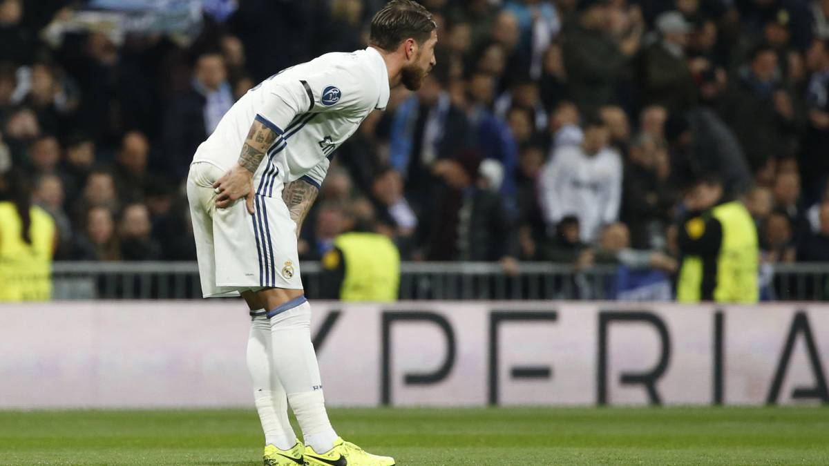 Sergio Ramos a serious doubt for Espanyol game with hip injury