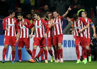 Advantage Atletico as they pounce on Bayer errors