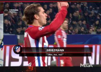 Griezmann unhappy at Simeone's Gameiro sub: