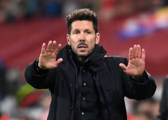 Simeone celebrates his 300th game in charge of Atletico