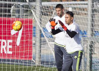 Zidane sale en defensa de Keylor: