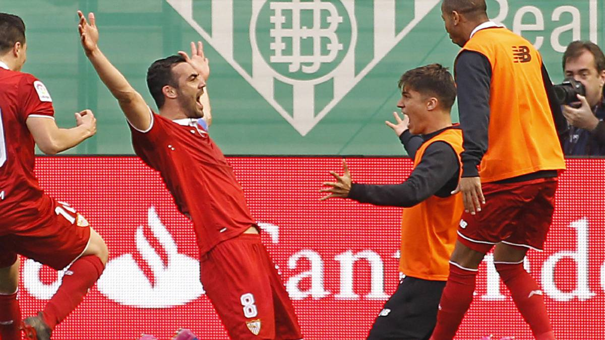 Sub Iborra earns Sevilla come- from-behind derby win at Betis