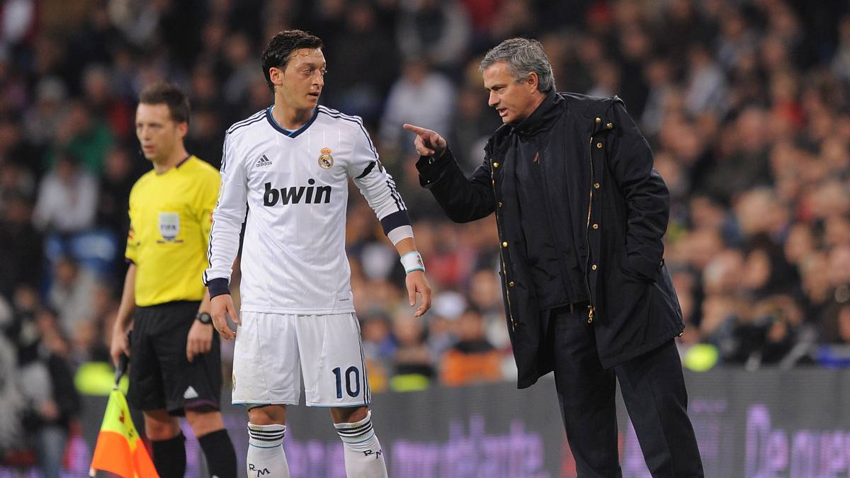 Özil reveals heated argument with Mourinho over his effort