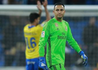 Navas matches total conceded goals from 2015-16 season