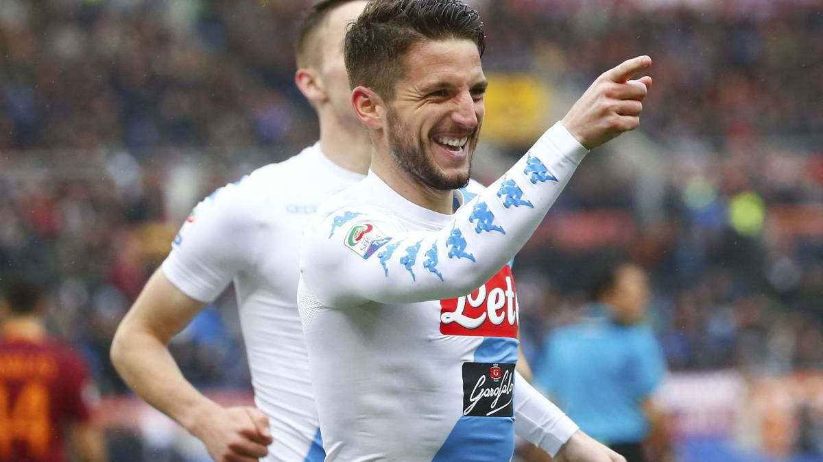 Mertens storms Rome and raises Napoli's hopes for Madrid match