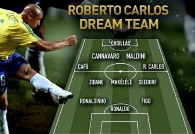 Dream Team de Roberto Carlos.