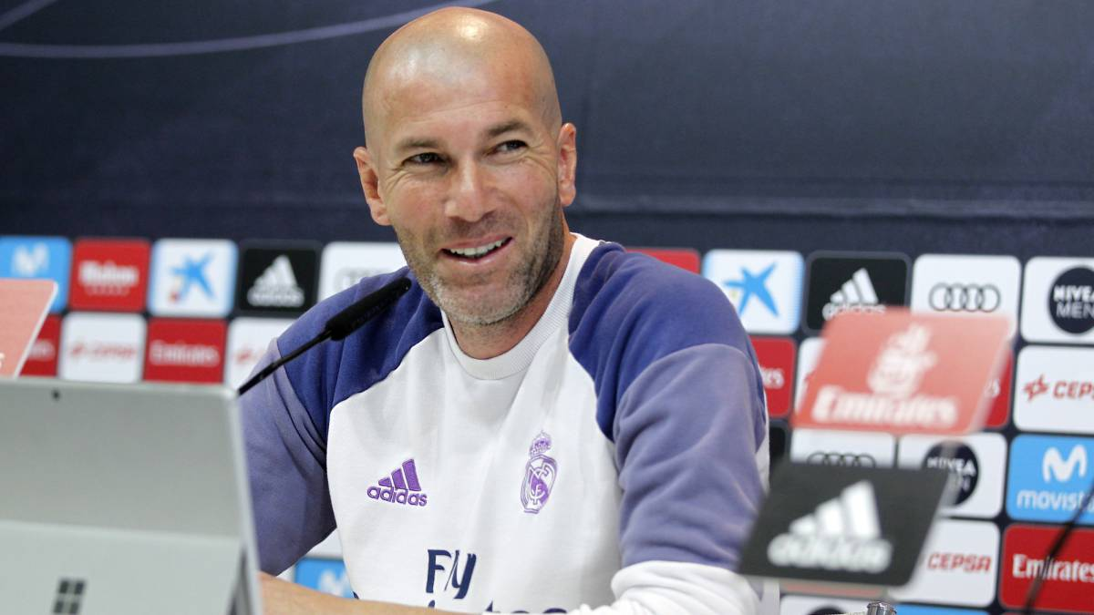 "Zidane: ""Hot and cold balls? We know they don't exist now..."""