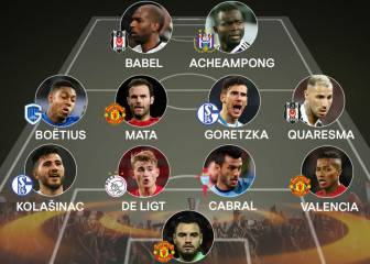 Cabral entra en el once ideal de la semana en la Europa League