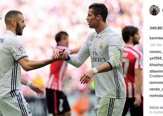 Benzema savours Cristiano connection after win at Athletic