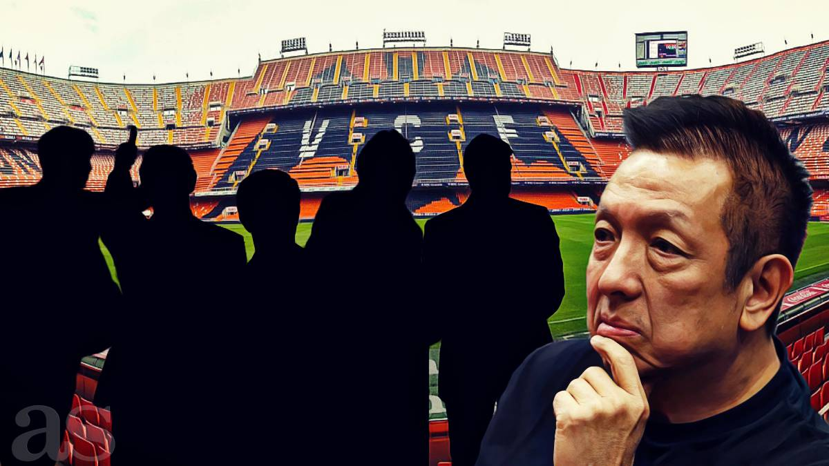 The 5 managerial candidates that Valencia have in mind