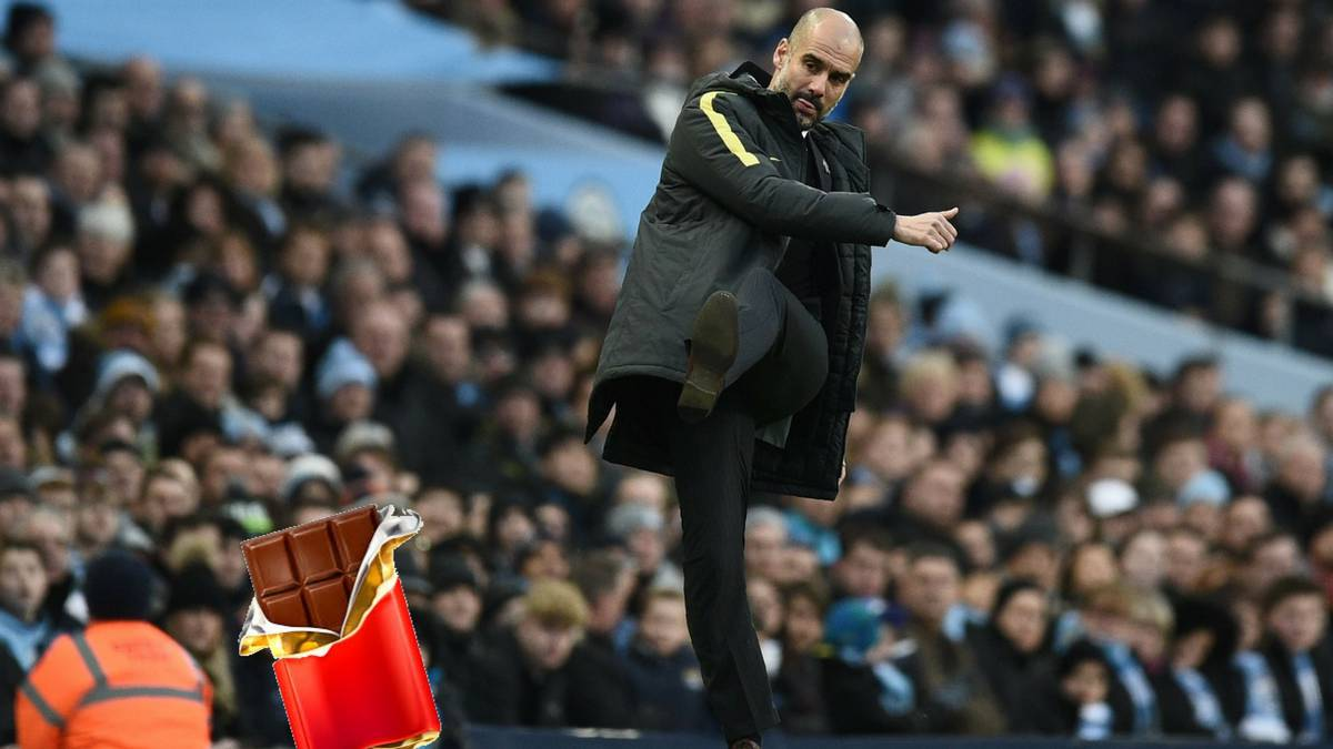 Pep Guardiola ha prohibido el chocolate en el campus del Manchester City.