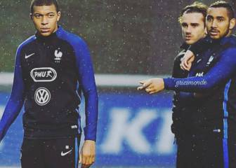 Griezmann on Mbappé: