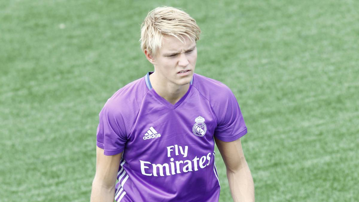 Norwegian coach: Real Madrid training has not helped Odegaard