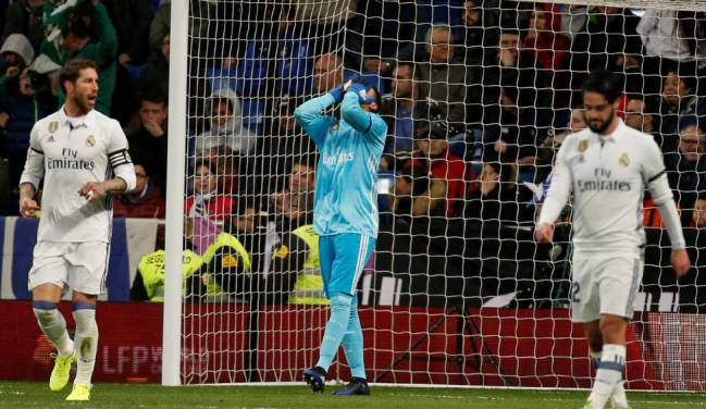 Keylor Navas' future in doubt after string of mistakes.