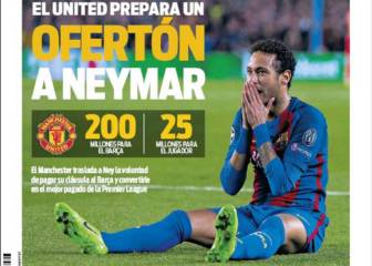 Man Utd readying big-money summer Neymar move - report
