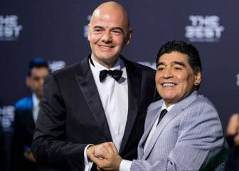 Maradona: I will speak with Infantino, Messi is a teddy bear