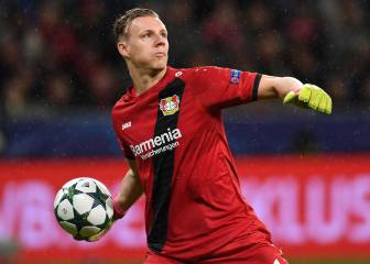 Leverkusen 'keeper Leno on Real Madrid's radar