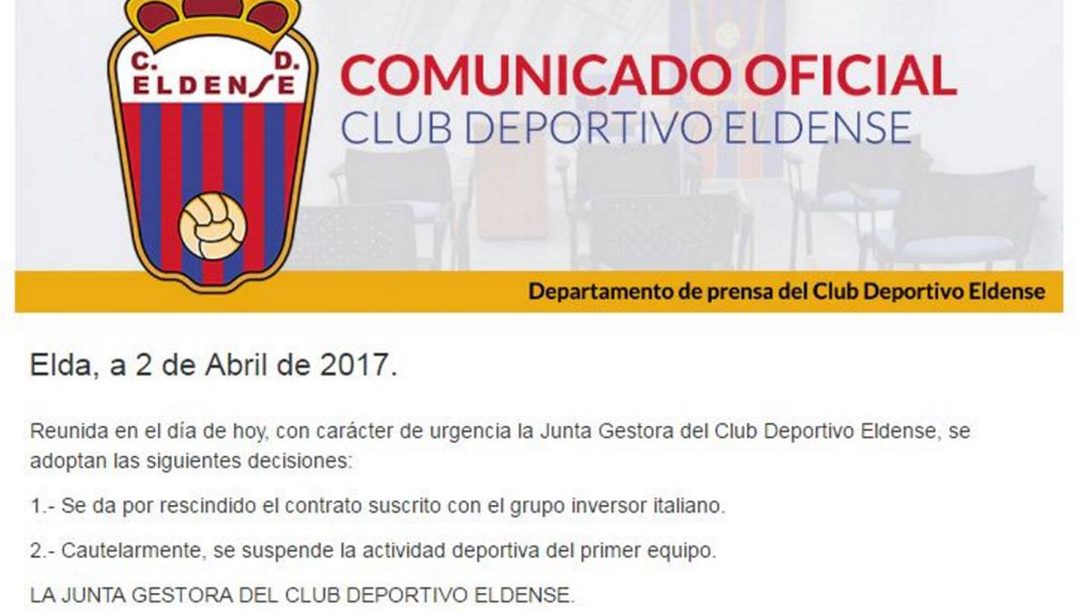 Eldense to sit out the rest of the season amid Barça B allegations