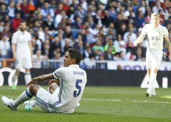 Real Madrid confirm Raphael Varane injury relapse