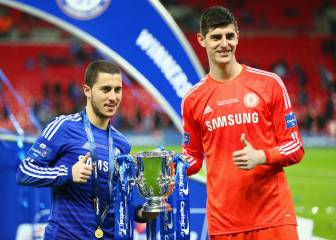Courtois and Hazard have no intention of leaving Chelsea