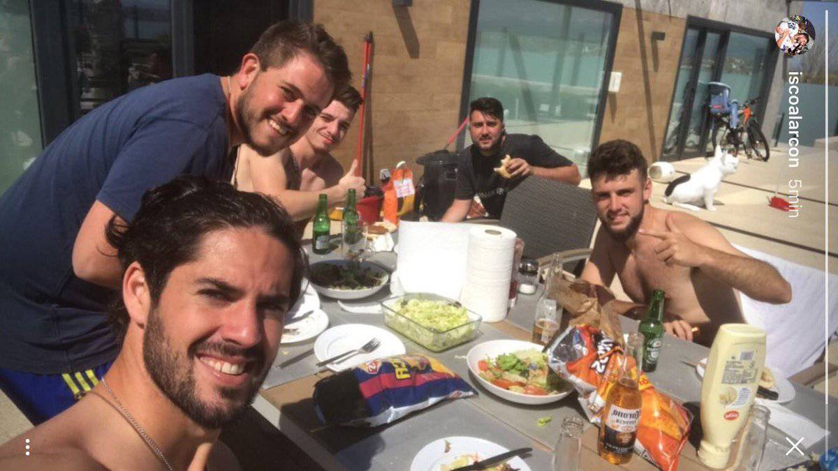 "Isco: ""I'm not going to Barça - we're going to eat them alive"""