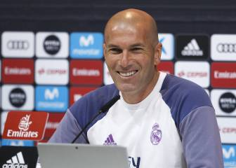 Zidane admits to uncertainty over Real Madrid future