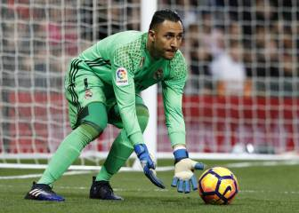 Keylor goes under the spotlight as opportunities dwindle