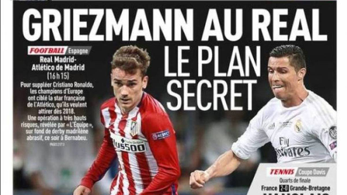 Atletico's Griezmann to Real Madrid: the secret plan