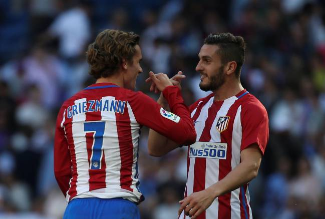 For the fourth match in a row, Atléti registered less than 40% possession. Koke topped the running charts, covering 12.81 kilometres at the Bernabéu.