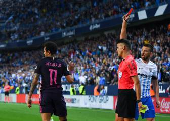 Neymar gets three-match ban, out of El Clásico