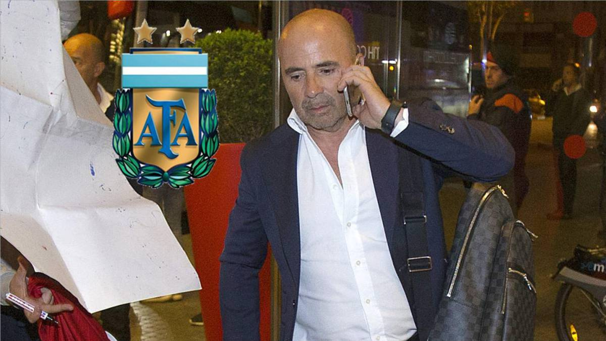 Jorge Sampaoli to accept Argentina coaching job