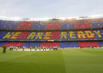 Camp Nou to unveil 'More than a club' mosaic before Juve tie