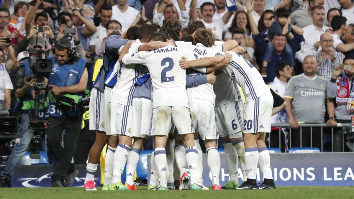 Real Madrid make history: 7 consecutive Champions League semi-finals
