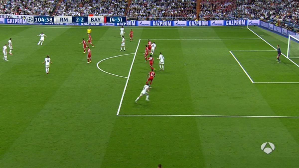 Champions league el segundo gol de cristiano fue en fuera for Fuera de juego real madrid