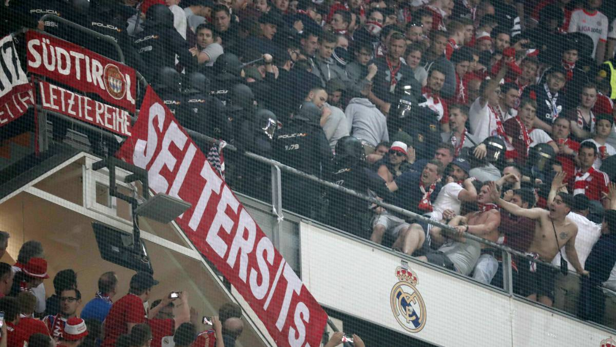 Bayern lodge official complaint over police charge in Bernabéu