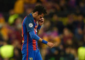 Official: Neymar is suspended and out of the Clásico