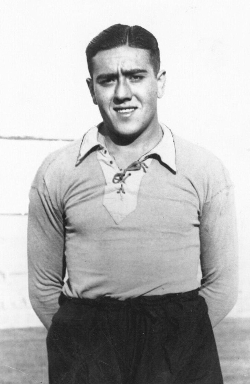 Nebot portero del Valencia y Real Madrid en los años 30