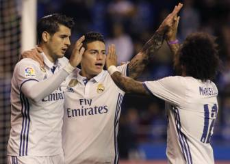 Real Madrid drop more points at the Bernabéu than on the road