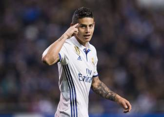 James se aferra al Madrid