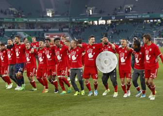 Bayern lift the 'Meisterschale' for a record 26th time