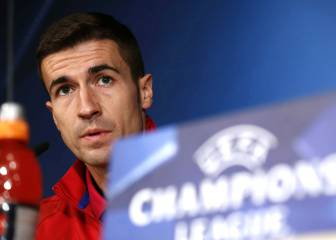 Gabi: Atléti must keep emotions under control at the Bernabéu