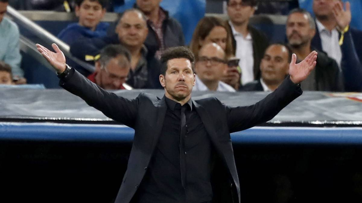 "Simeone: ""No creo que sea imposible remontar el 3-0"""